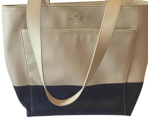 Kate Spade Tote in navy and cream