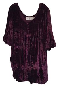Denim 24/7 Top Dark Plum