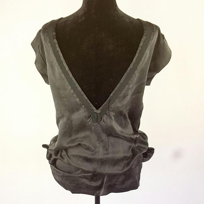See by Chloé Top Distressed black