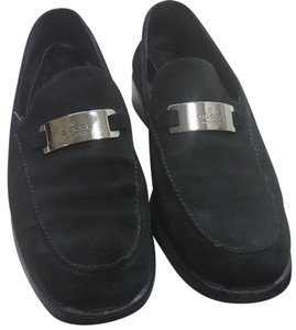 Gucci Suede Loafers Vintage Blacks Flats