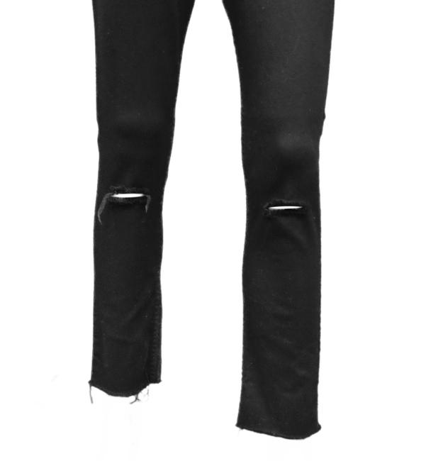 JET John Eshaya Ripped Knees Released Hem Skinny Jeans