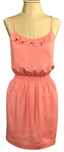 BCBGeneration short dress Persimmon, Salmon, Pink, Peach on Tradesy
