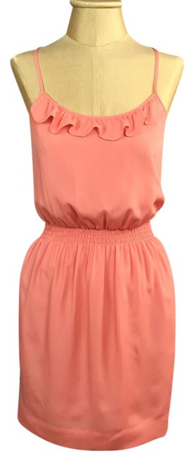 Preload https://img-static.tradesy.com/item/21069742/bcbgeneration-persimmon-salmon-pink-peach-kud6j161-short-casual-dress-size-0-xs-0-1-650-650.jpg