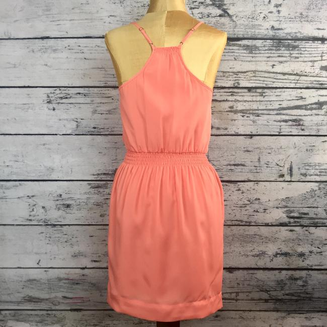 BCBGeneration short dress Persimmon, Salmon, Pink, Peach on Tradesy Image 2