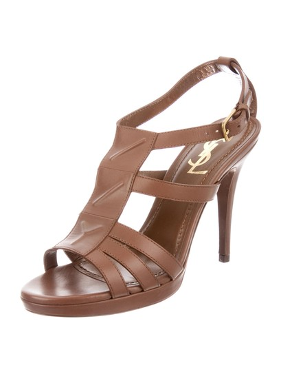 Saint Laurent Ysl Sexy Women Heels Women brown Sandals