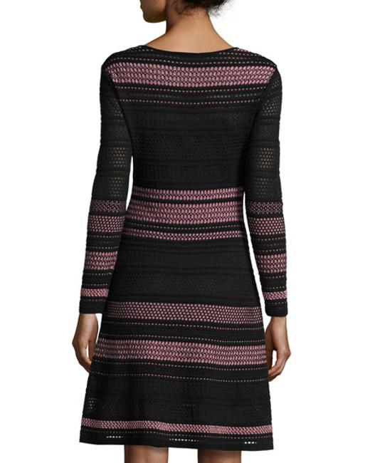 Missoni short dress Black on Tradesy