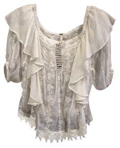 Free People Nwt Top Ivory
