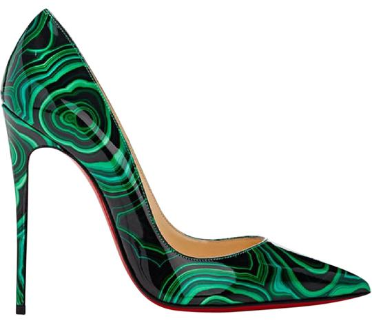Preload https://img-static.tradesy.com/item/21070113/christian-louboutin-so-kate-malachite-emerald-green-black-patent-stiletto-36-pumps-size-us-6-regular-0-1-540-540.jpg