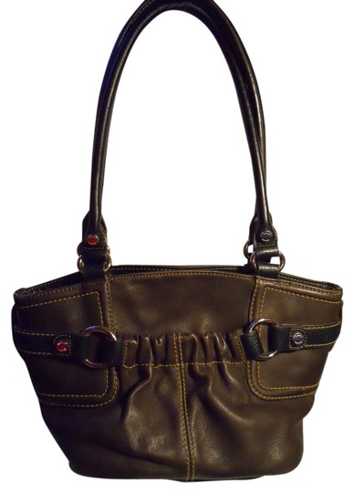 Preload https://item5.tradesy.com/images/tignanello-brown-and-black-leather-tote-2107014-0-0.jpg?width=440&height=440