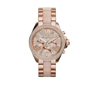 Michael Kors New Wren Michael Kors MK6096 Blush Rose Gold-Tone Wren Watch