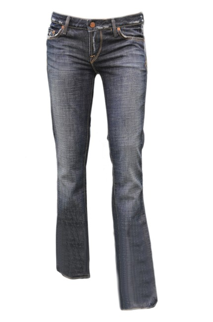 Preload https://img-static.tradesy.com/item/21070187/dark-wash-carino-boot-cut-jeans-size-26-2-xs-0-0-650-650.jpg