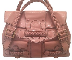 Valentino Satchel in Light Rose