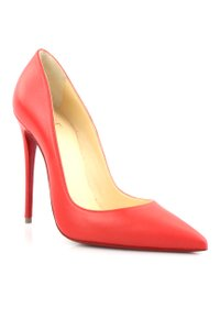 Christian Louboutin So Kate 120mm Sole Pointed Toe Red Pumps
