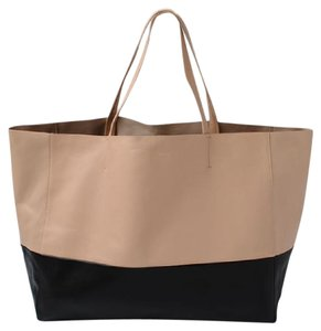 Céline Tote in Beige/Black