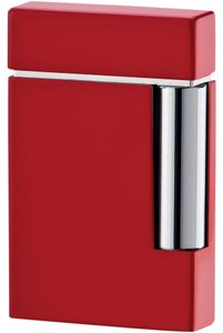 S.T. Dupont ST Dupont Ligne 8 Red Lacquer Traditional Flame Lighter 25102