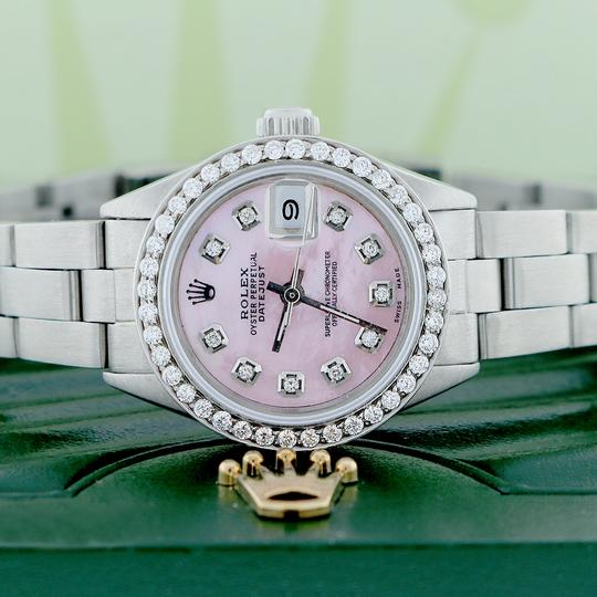 Rolex Rolex Datejust Ladies 26mm Steel Oyster w/MOP Diamond Dial & Bezel Image 1
