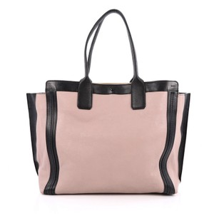 Chloé Chloe Leather Pink Tote