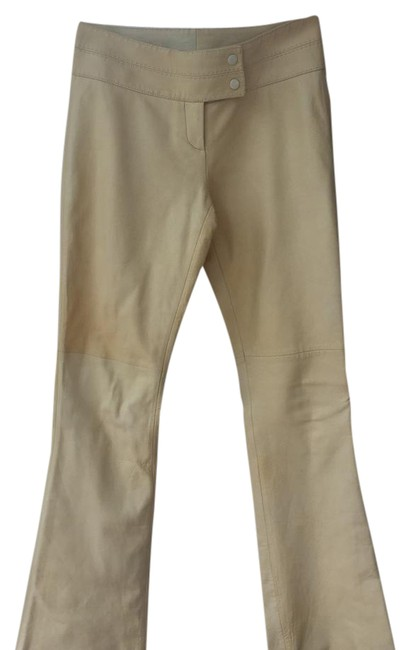 Preload https://item5.tradesy.com/images/cache-ivory-lamb-leather-flared-pants-size-2-xs-26-21070419-0-1.jpg?width=400&height=650