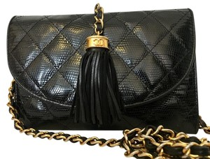 Chanel Mini Flap Vintage Leather Cross Body Bag