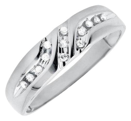 Preload https://img-static.tradesy.com/item/21070446/10k-white-gold-solid-diagonal-diamonds-z-style-wedding-band012ct-ring-0-1-540-540.jpg