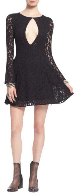Preload https://img-static.tradesy.com/item/21070526/free-people-free-shipping-black-lace-flare-short-casual-dress-size-8-m-0-3-650-650.jpg