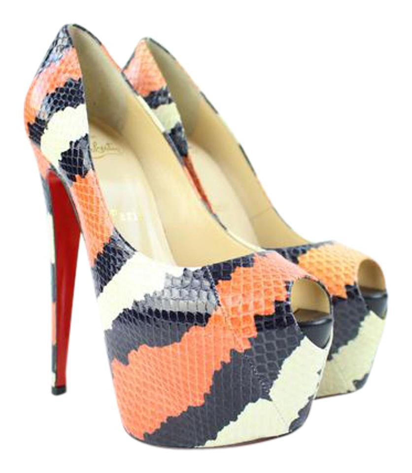 1740d5e891e Christian Louboutin Multicolor [ebay Sold] ( Display Model ) Highness 160  Ayers/Kid Toe 37cla32717 Pumps Size US 6.5 Narrow (Aa, N)