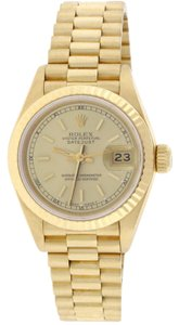 Rolex Rolex President Ladies Yellow Gold Original Champagne Dial 26MM 69178