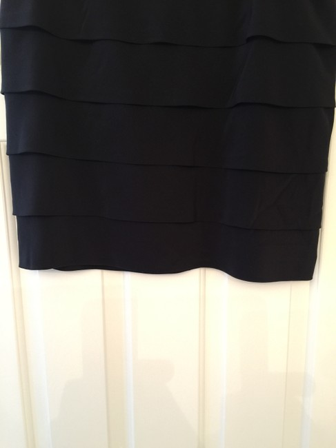 Tory Burch Silk Mini Skirt Black