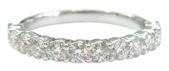 Preload https://item5.tradesy.com/images/g-platinum-round-cut-diamond-shared-prong-band-132ct-ring-21070604-0-1.jpg?width=440&height=440