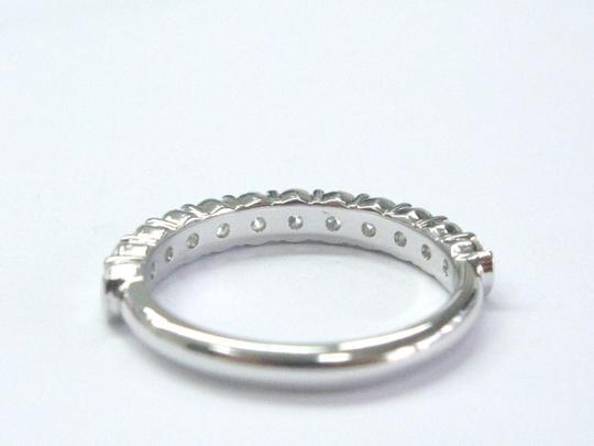 Other Platinum Round Cut Diamond Shared Prong Band Ring 1.32Ct