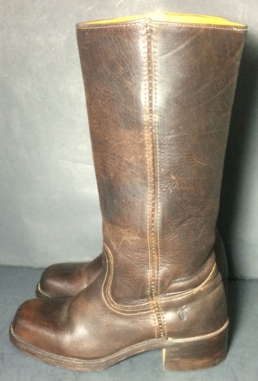 Frye 77050 Campus Size 7 Women Size 7 Brown Boots