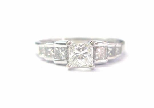 Preload https://item3.tradesy.com/images/h-fine-14kt-princess-cut-diamond-engagement-step-wg-115ct-ring-21070622-0-0.jpg?width=440&height=440