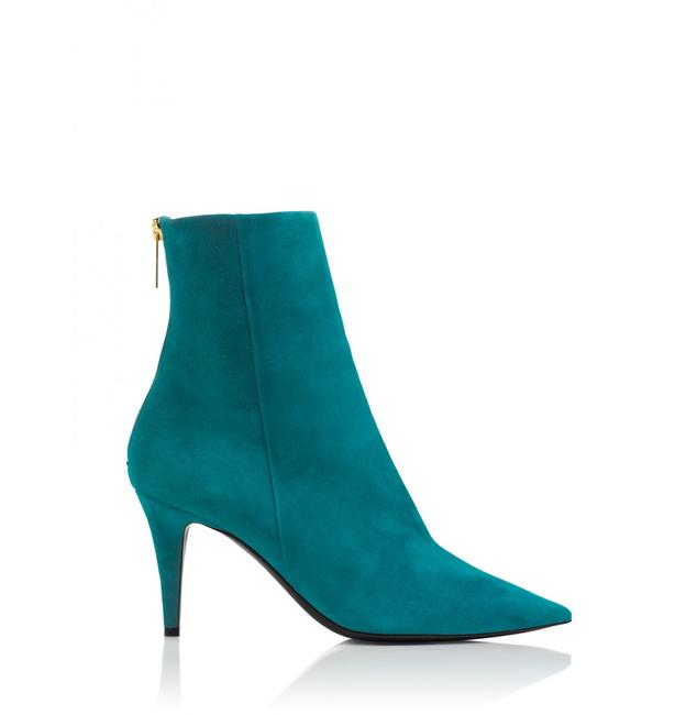 Item - Teal Excess Suede Anklee 70mm Heels Boots/Booties Size EU 36 (Approx. US 6) Regular (M, B)