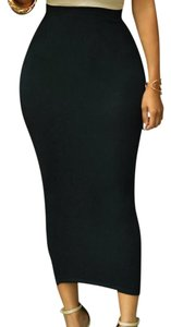 Other Pencil Stretch High Waisted Sexy Bodycon Skirt BLACK