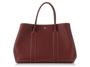 Hermès Hr.k1216.02 Red Negonda Leather Palladium Tote