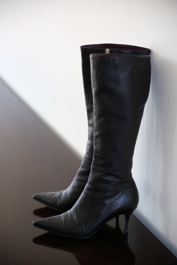 Gucci Long Heels Black Boots