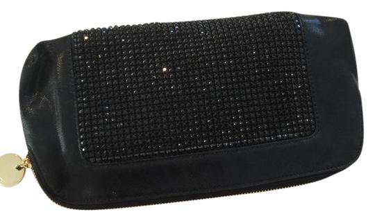 Preload https://img-static.tradesy.com/item/21070694/deux-lux-studded-black-sequin-silk-clutch-0-1-540-540.jpg