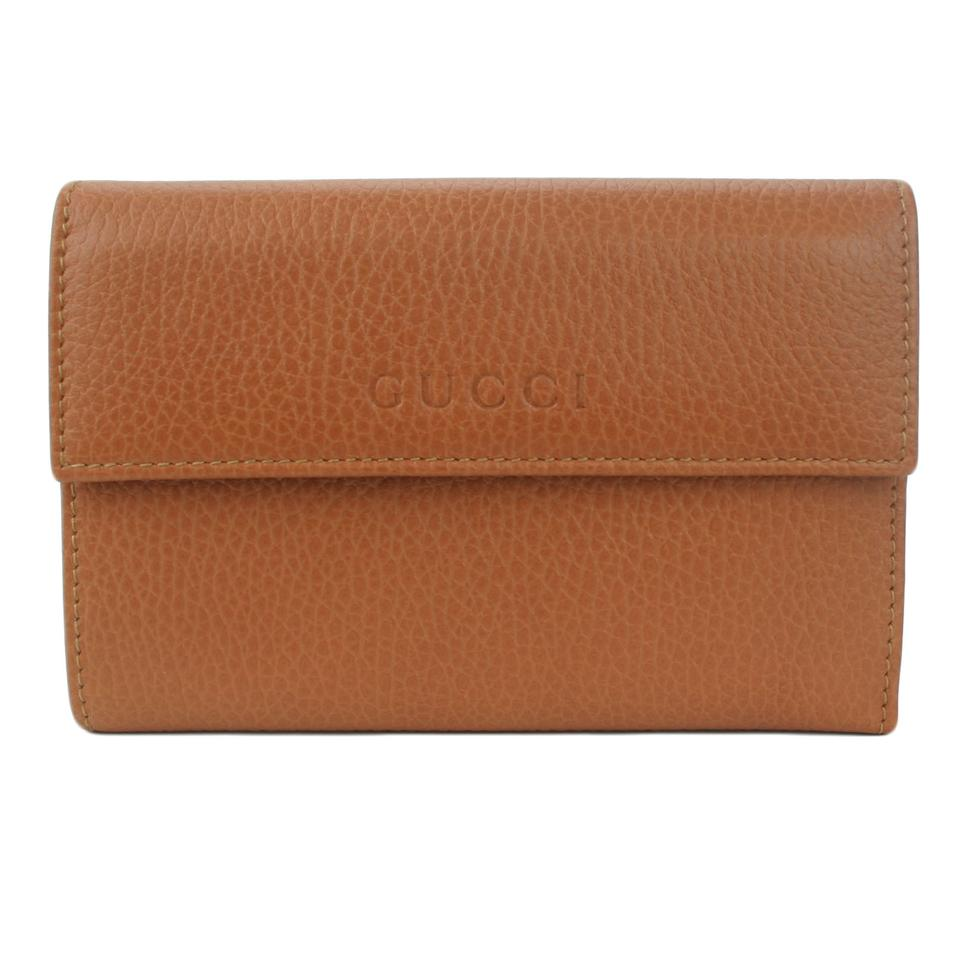 dca2faa6cca Gucci GUCCI 346057 Women's Leather French Wallet Image 0 ...