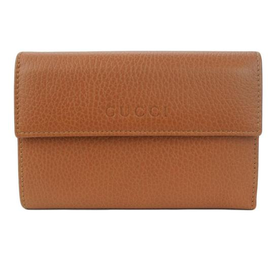Gucci GUCCI 346057 Women's Leather French Wallet