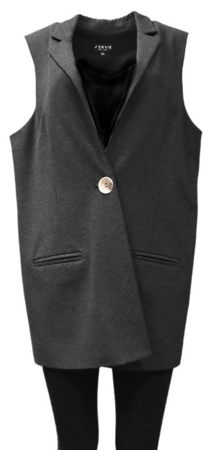 Preload https://img-static.tradesy.com/item/21070697/charcoal-grey-ponte-knit-vest-size-16-xl-plus-0x-0-1-650-650.jpg
