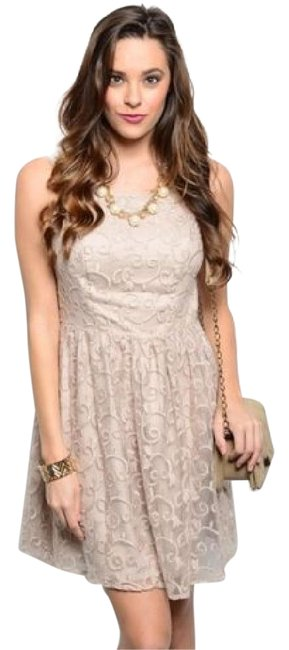 Preload https://item4.tradesy.com/images/ark-and-co-beige-embroidered-new-junior-open-back-fully-short-night-out-dress-size-4-s-21070738-0-1.jpg?width=400&height=650
