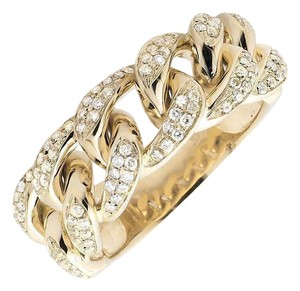 Other Miami Cuban Link Style Genuine VS Diamond Statement Ring 1.25ct.