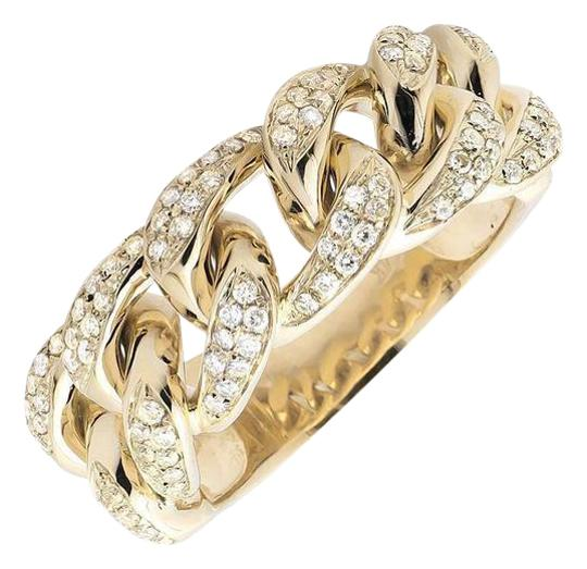 Preload https://item2.tradesy.com/images/14k-yellow-gold-miami-cuban-link-style-genuine-vs-diamond-statement-125ct-ring-21070751-0-1.jpg?width=440&height=440