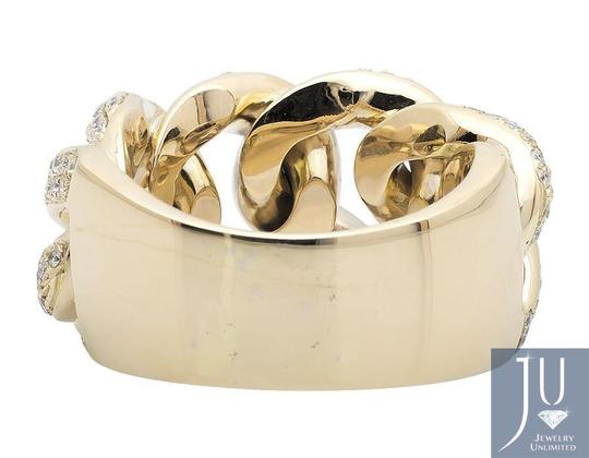 Jewelry Unlimited Miami Cuban Link Style Genuine VS Diamond Statement Ring 2.75ct Image 1