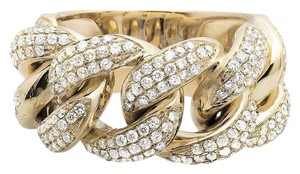 Other Miami Cuban Link Style Genuine VS Diamond Statement Ring 2.75ct
