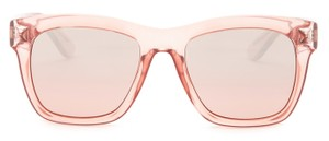 Valentino Valentino Women's Fashion Transparent Pink Crystal Stud Sunglasses