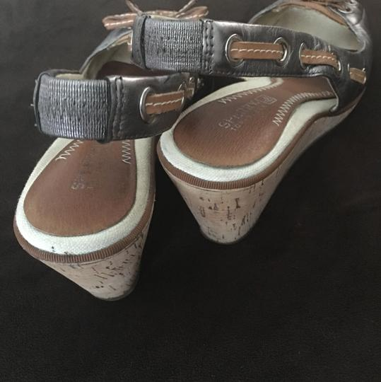 Sperry Pewter Wedges Image 1