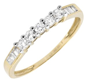 Other Ladies Genuine Baguette Diamond Engagement Band Ring (0.29 ct)