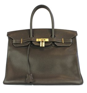 Hermès Birkin Hermes35 Birkin Ladies Tote in Chocolate Brown