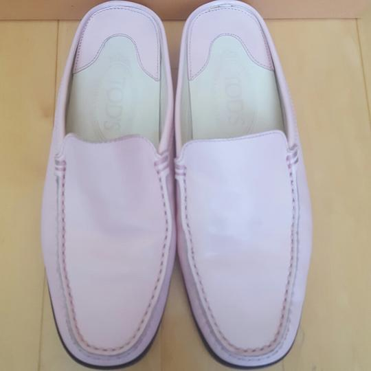 Tod's Pale pink Mules Image 1